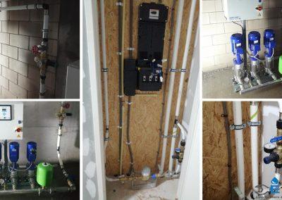 Hydrofoor installatie aanleggen