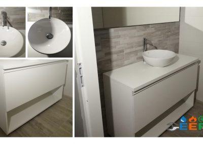 Installatie sanitair en badmeubel